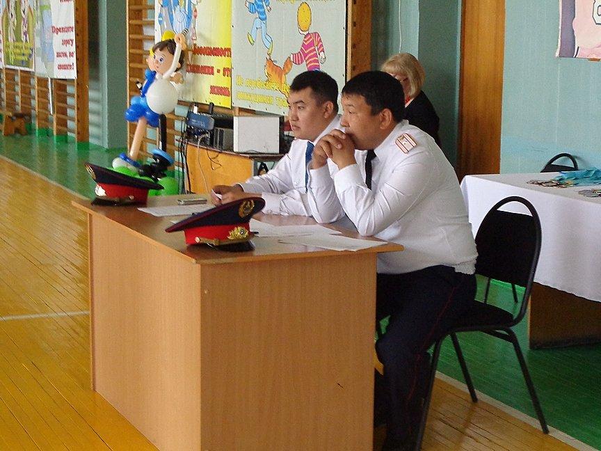 Сегодня состоялся слет ЮИД в Усть-Каменогорске