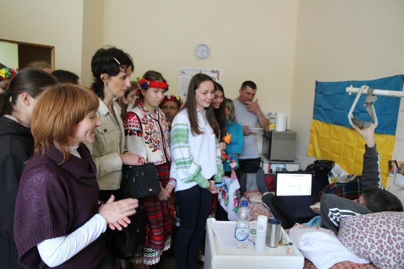 У Львові для поранених бійців АТО організували концерт (ФОТО) (фото) - фото 1