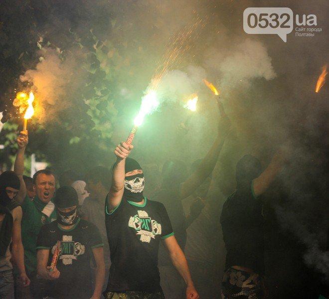 Гарячий день у Полтаві: марш фанатів, освідчення в коханні та Ліга Європи (ФОТО), фото-3