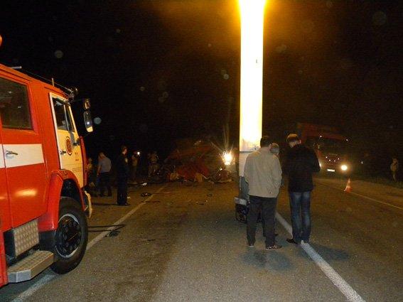 На Ярмолинеччині сталася ДТП: троє загинуло, троє травмовані(ФОТО) (фото) - фото 1