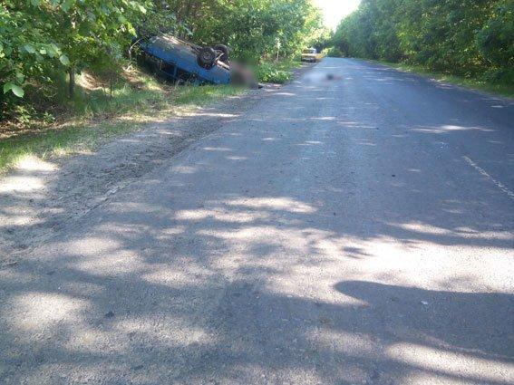 На Полтавщині п'яний водій збив велосипедиста (фото) - фото 1