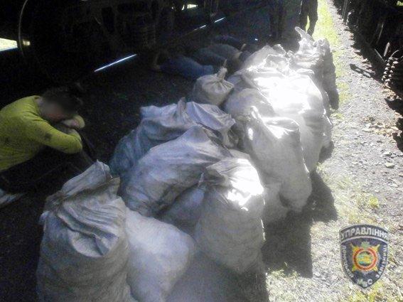 Красноармейские правоохранители задержали преступную группировку, которая занималась похищением угля (фото) - фото 1