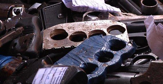 В Днепропетровской области на переплавку отправили 800 килограмм оружия (фото) - фото 4