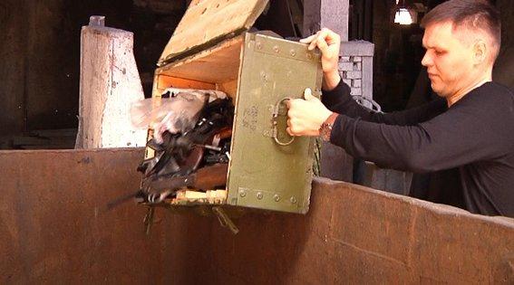 В Днепропетровской области на переплавку отправили 800 килограмм оружия (фото) - фото 2