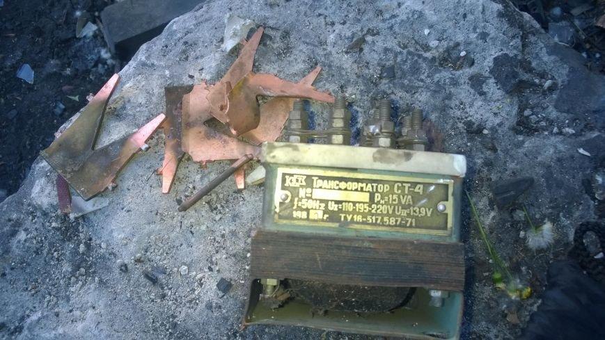 Комсомольский школьник украл на металлолом железнодорожный светофор (ФОТО), фото-3