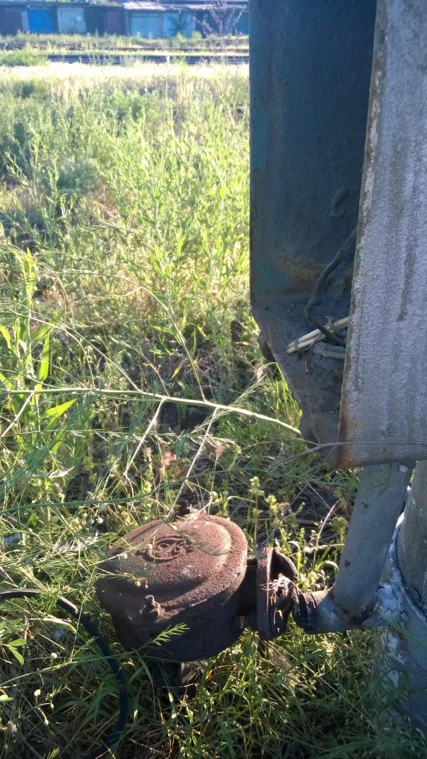 Комсомольский школьник украл на металлолом железнодорожный светофор (ФОТО), фото-6