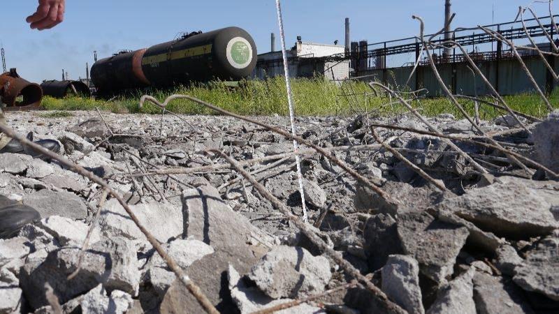 Украинские военные показали миссии ОБСЕ результаты обстрелов Авдеевки (ФОТО), фото-5