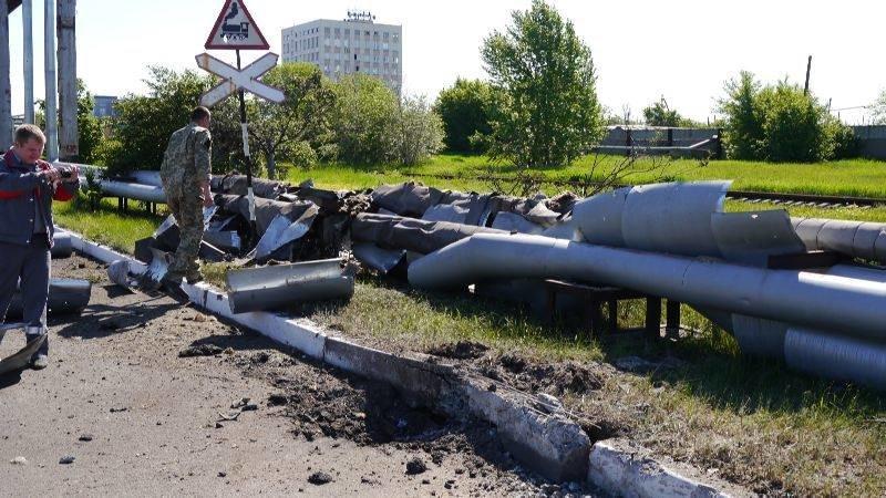 Украинские военные показали миссии ОБСЕ результаты обстрелов Авдеевки (ФОТО), фото-6
