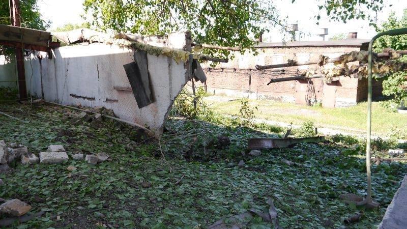 Украинские военные показали миссии ОБСЕ результаты обстрелов Авдеевки (ФОТО), фото-4