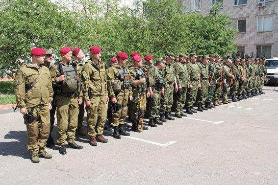 Черниговские милиционеры снова отправились на Донбасс (фото) - фото 1