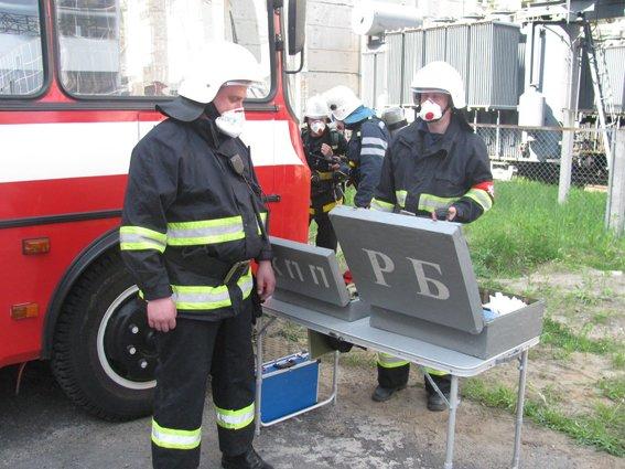 На Хмельницькій АЕС відбулось комплексне пожежно-тактичне навчання (фото) - фото 2