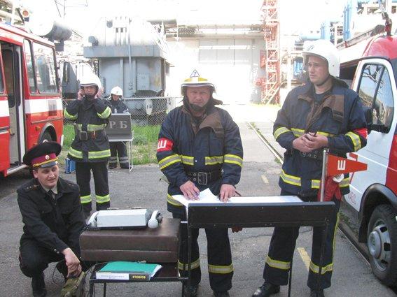На Хмельницькій АЕС відбулось комплексне пожежно-тактичне навчання (фото) - фото 1