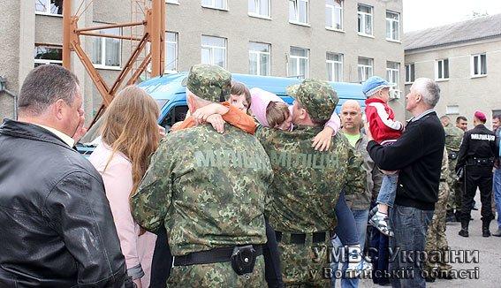 Відбулась одинадцята ротація зведеного загону міліціонерів з Волині (Фото) (фото) - фото 1