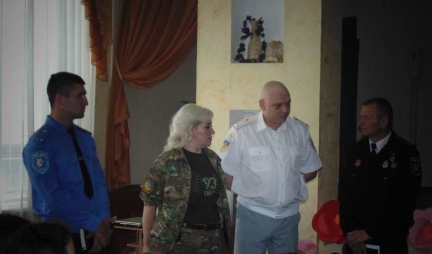 Школьникам показали мины, гранаты и другие боеприпасы (фото) - фото 1