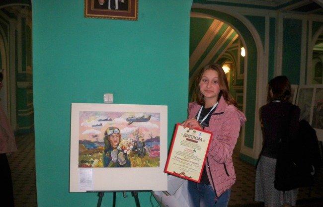 Работа крымской школьницы победила во Всероссийском конкурсе «Спасибо деду за Победу!» (ФОТО), фото-1