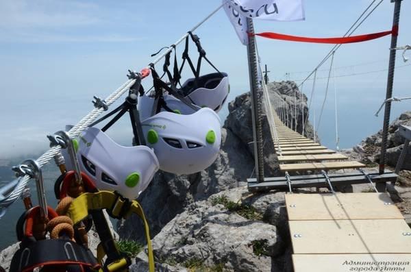 На Ай-Петри теперь можно прогуляться по подвесным мостам на высоте 1200 метров над уровнем моря (ФОТО), фото-2