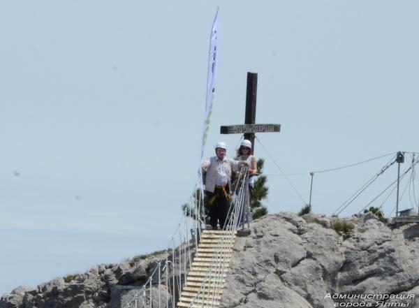 На Ай-Петри теперь можно прогуляться по подвесным мостам на высоте 1200 метров над уровнем моря (ФОТО), фото-5