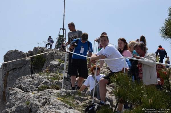 На Ай-Петри теперь можно прогуляться по подвесным мостам на высоте 1200 метров над уровнем моря (ФОТО), фото-7