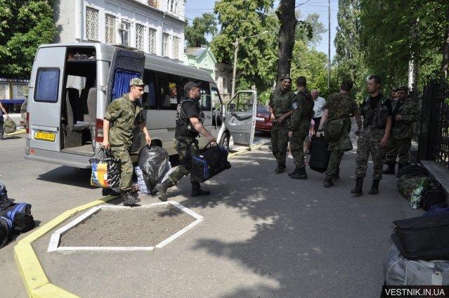 Кременчугские милиционеры вернулись домой из зоны АТО (ФОТО), фото-1
