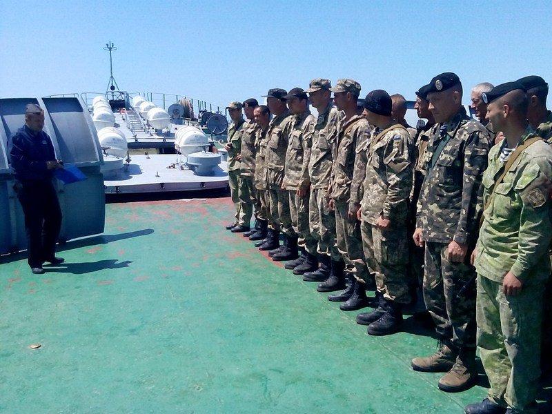 Николаевские морпехи высадились на Одесчине (ФОТО) (фото) - фото 6