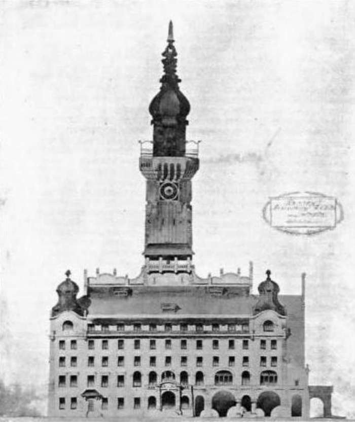 Львівська ратуша якої ми не побачимо. Чотири проекти 1908 року (фото) - фото 5