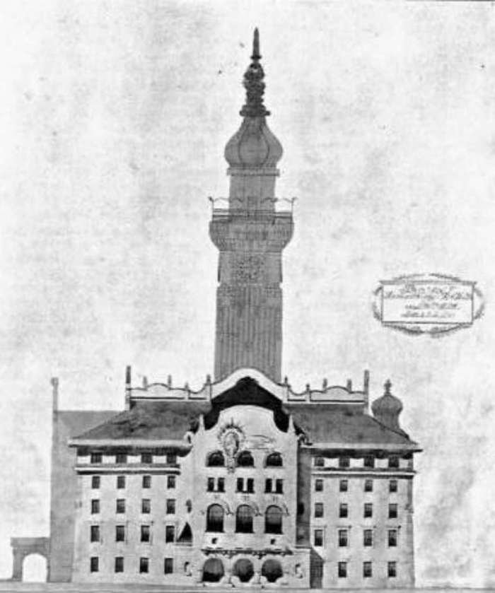 Львівська ратуша якої ми не побачимо. Чотири проекти 1908 року (фото) - фото 4