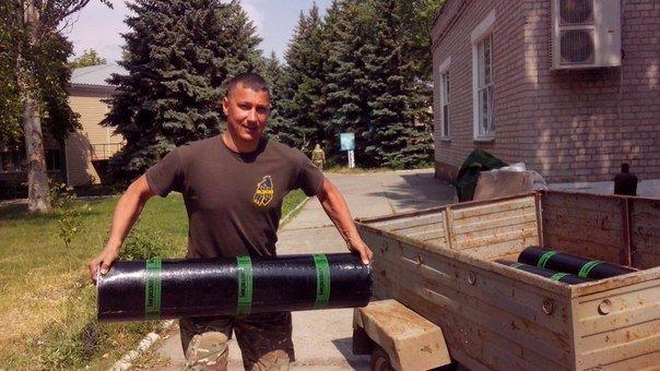 «Азов» помогает строительству школы в Урзуфе (ФОТО), фото-2