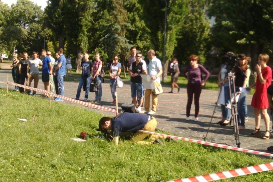 Кладбище в центре Чернигова устроили больные ВИЧ, фото-4