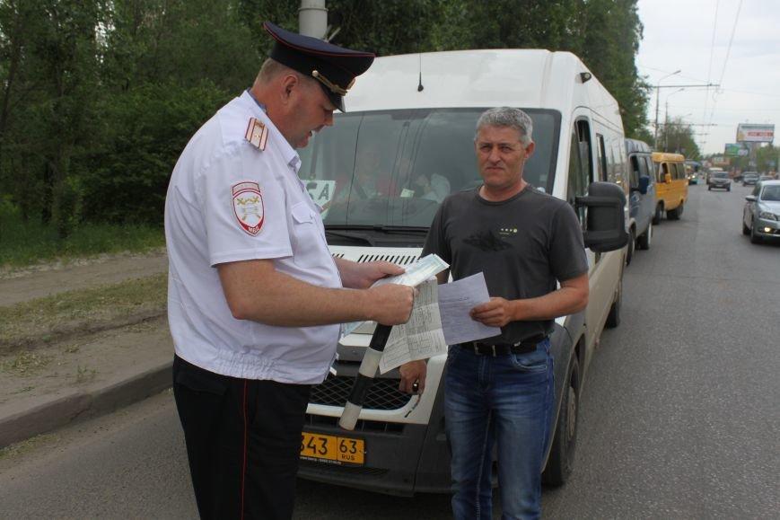Волгоградская Госавтоинспекция проверила маршрутки, фото-3