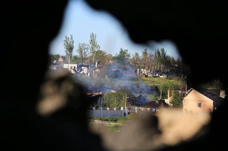 Широкине під вогнем: репортаж з передової франківських журналістів (ФОТО+ВІДЕО), фото-1