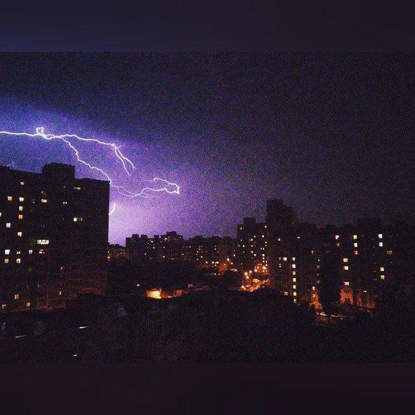 На Киев обрушилась майская гроза (ФОТО) (фото) - фото 2
