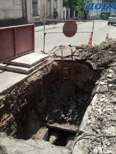 У Тернополі на вул. Січових Стрільців перекрили дорогу (фото) - фото 1