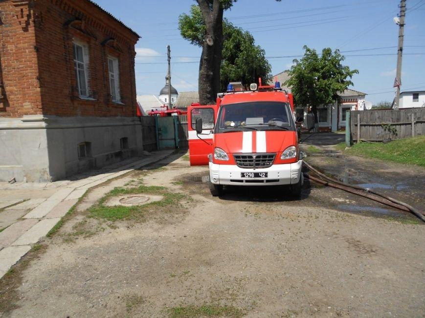 На Сумщине горело заведение внешкольного образования (ФОТО) (фото) - фото 1