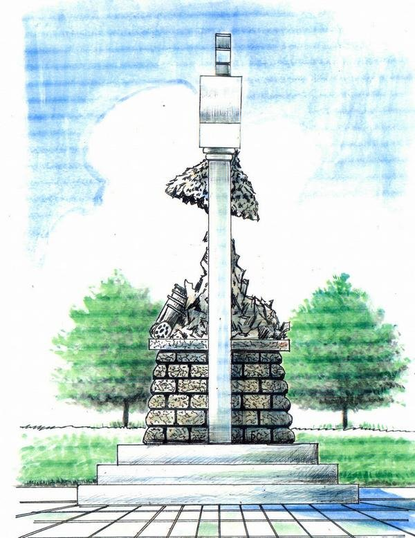 В Сумах установят Памятный знак в честь погибших в зоне АТО артиллеристов (ФОТО) (фото) - фото 1