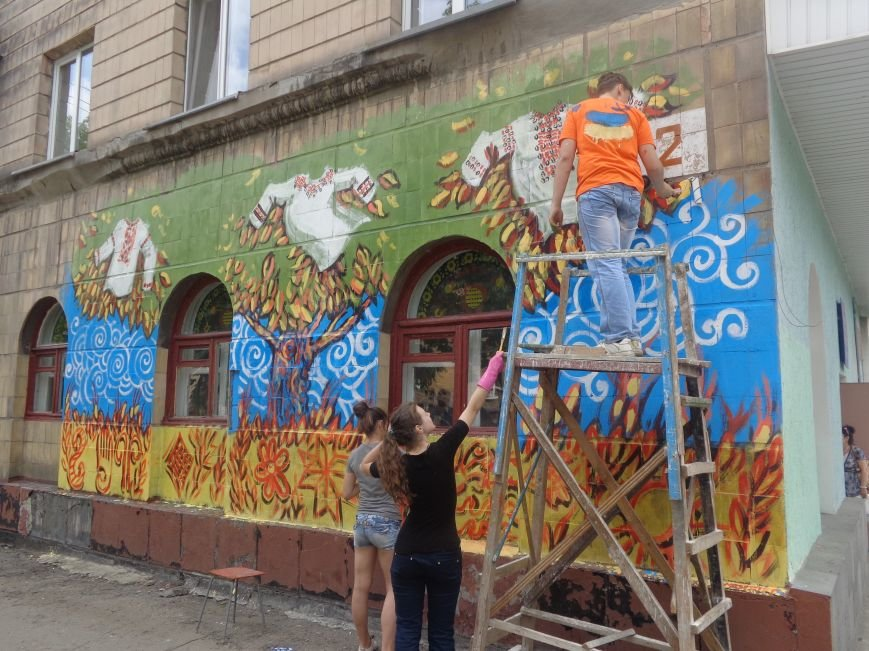 Красноармейск продолжает открывать Украину (фото) - фото 1