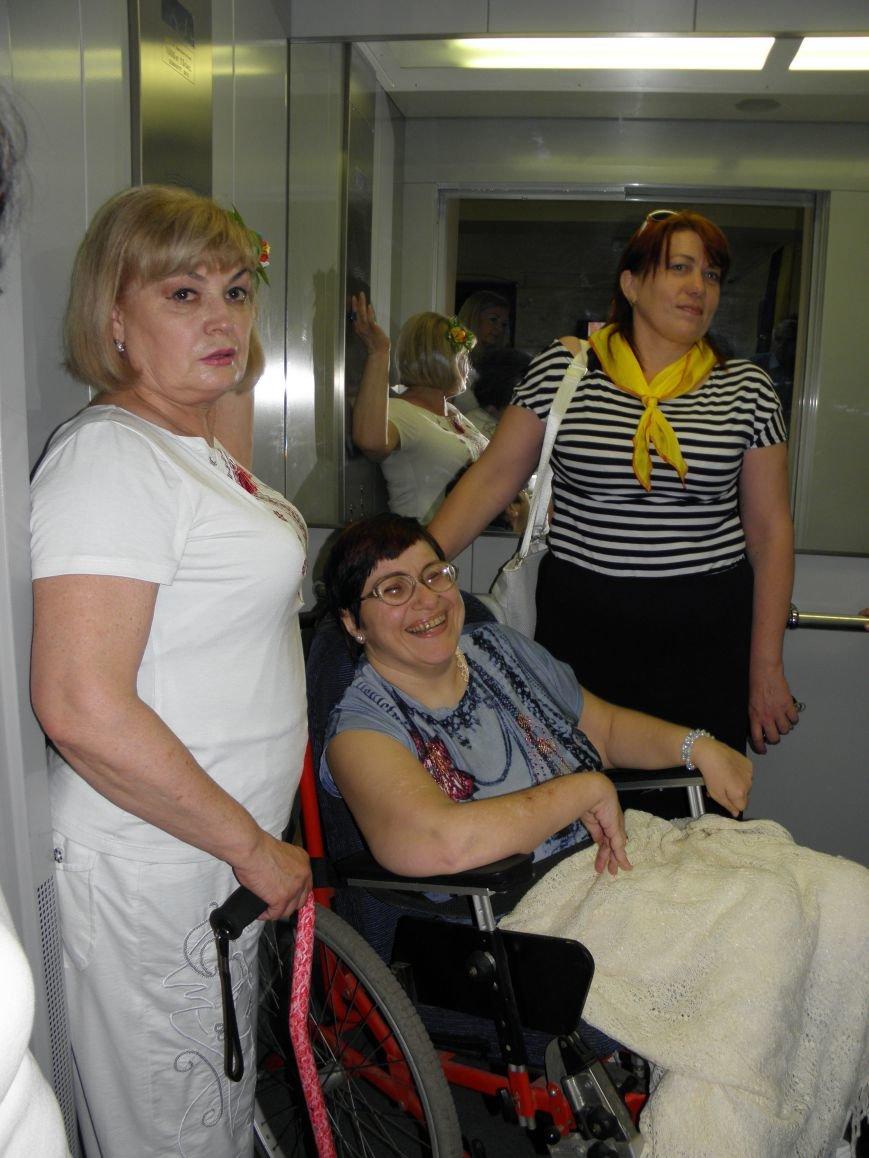 В Донбасском центре реабилитации инвалидов теперь работе лифт и есть горячая вода (фото) - фото 4