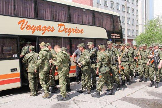 Бойцы батальона «Чернигов» отправились на Донбасс (фото) - фото 1
