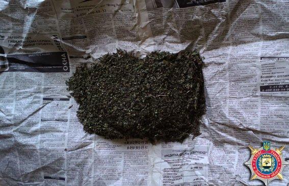 Димитровчанин прятал наркотики под козырьком Дворца культуры (фото) - фото 1