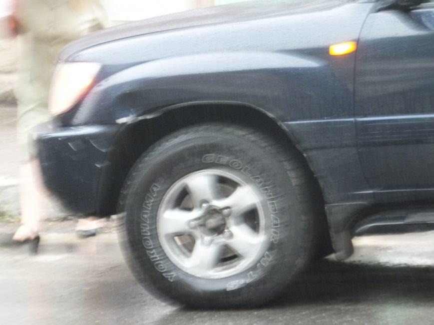 В Кировограде столкнулись «Toyota Land Cruiser» и мотоцикл (фото) (фото) - фото 1