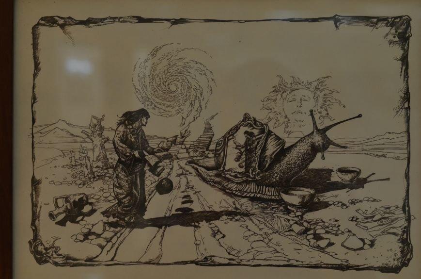 В Симферополе показали работы художников, которые «пишут» книги (ФОТО), фото-10
