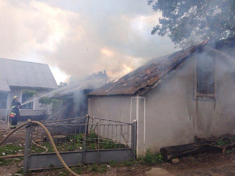 Рятувальники ліквідували пожежу у господарчій будівлі (фото) - фото 1