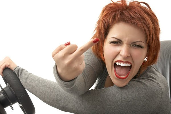 Почему люди за рулем ведут себя как мудаки? (фото) - фото 1