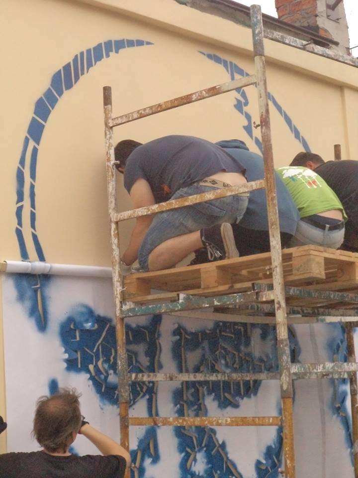 Граффити с изображением Тараса Шевченко планируется закончить сегодня (ФОТО), фото-6