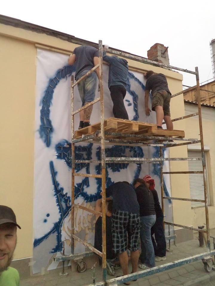 Граффити с изображением Тараса Шевченко планируется закончить сегодня (ФОТО), фото-4