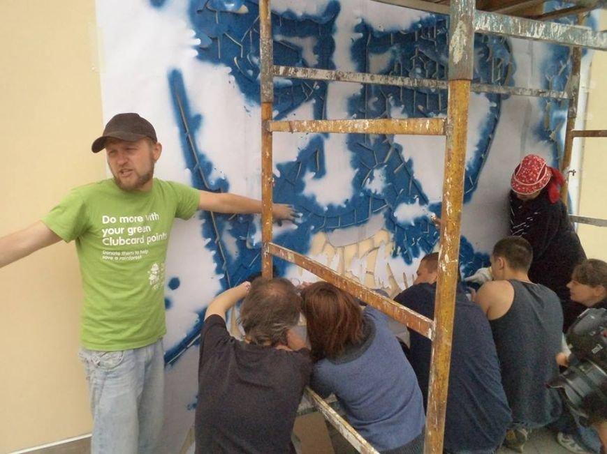 Граффити с изображением Тараса Шевченко планируется закончить сегодня (ФОТО), фото-3