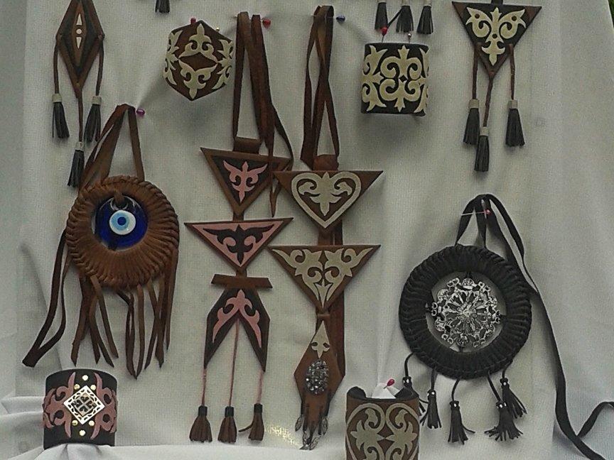 В Усть-Каменогорске проходит выставка декоративно прикладного творчества «Шебер», фото-6