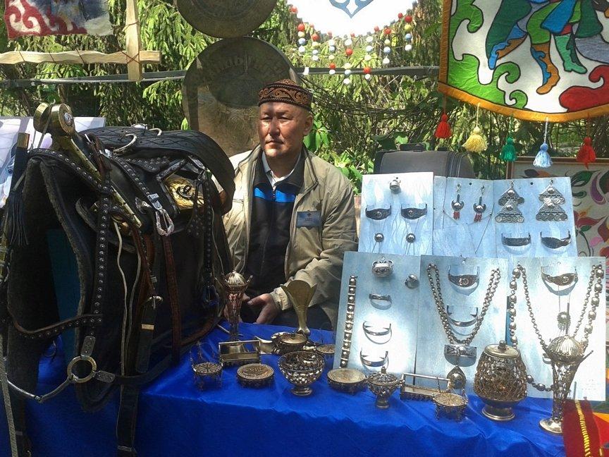В Усть-Каменогорске проходит выставка декоративно прикладного творчества «Шебер», фото-5