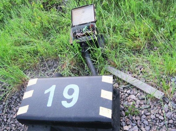 На станції Рясне-2 затримали львів'янина, який крав деталі із залізниці (ФОТО) (фото) - фото 4