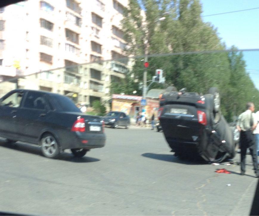 Перевернулся автомобиль Lifan X60, фото-4