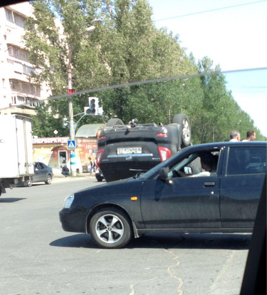Перевернулся автомобиль Lifan X60, фото-5
